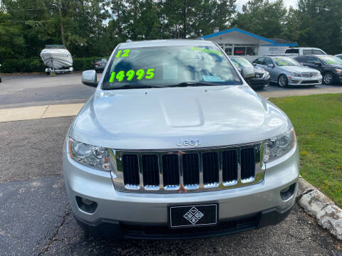 2012 Jeep Grand Cherokee for sale at TOP OF THE LINE AUTO SALES in Fayetteville NC