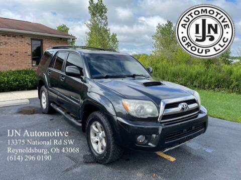 2006 Toyota 4Runner for sale at IJN Automotive Group LLC in Reynoldsburg OH