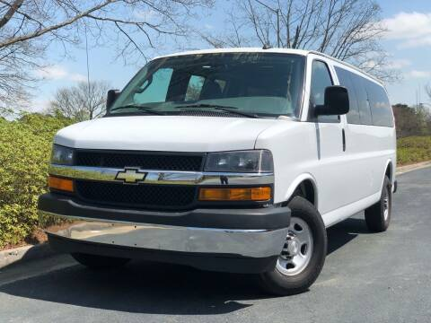 2018 Chevrolet Express Passenger for sale at William D Auto Sales in Norcross GA