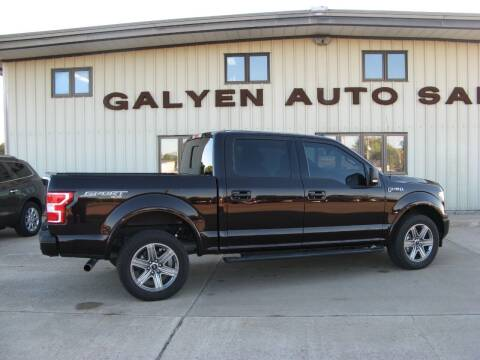 2018 Ford F-150 for sale at Galyen Auto Sales in Atkinson NE