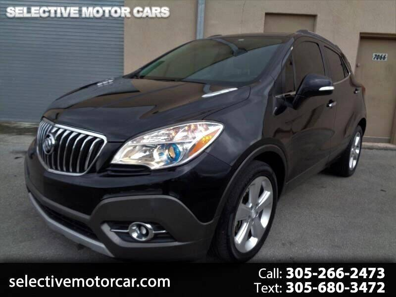 2015 Buick Encore for sale at Selective Motor Cars in Miami FL