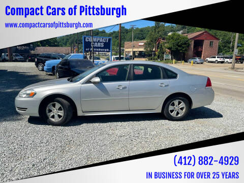 2014 Chevrolet Impala Limited for sale at Compact Cars of Pittsburgh in Pittsburgh PA