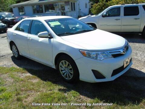 2012 Toyota Camry for sale at Vans Vans Vans INC in Blauvelt NY