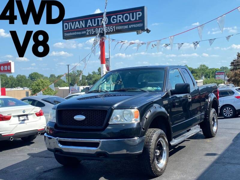2006 Ford F-150 for sale at Divan Auto Group in Feasterville Trevose PA