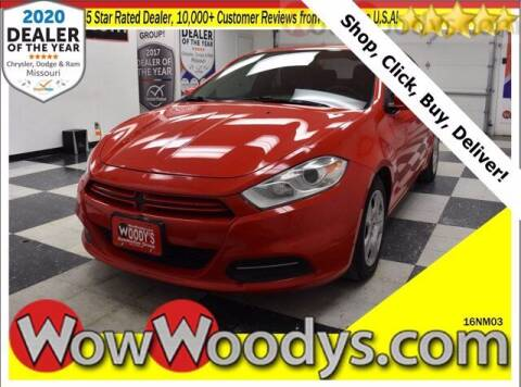 2016 Dodge Dart for sale at WOODY'S AUTOMOTIVE GROUP in Chillicothe MO