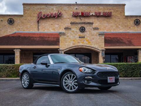 2017 FIAT 124 Spider for sale at Jerrys Auto Sales in San Benito TX
