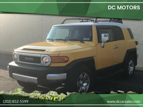 2007 Toyota FJ Cruiser for sale at DC Motors in Springfield VA