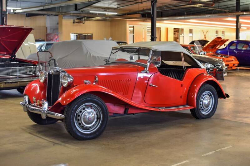 1950 MG TD for sale at Hooked On Classics in Watertown MN