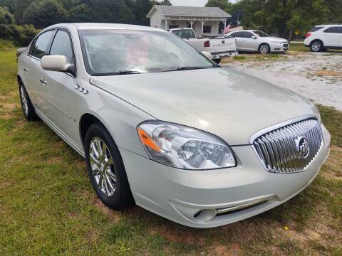 2010 Buick Lucerne for sale at Lanier Motor Company in Lexington NC
