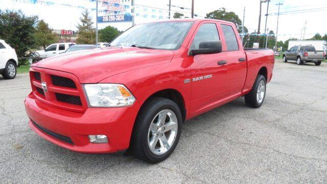 2012 RAM Ram Pickup 1500 for sale at Minden Autoplex in Minden LA