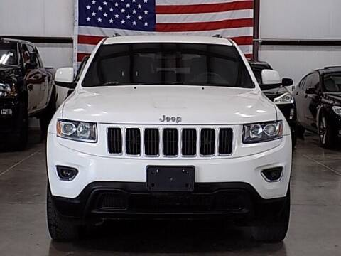 2016 Jeep Grand Cherokee for sale at Texas Motor Sport in Houston TX