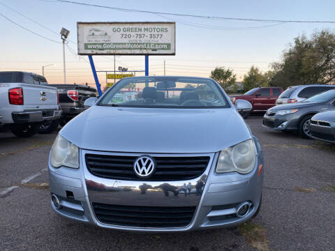 2007 Volkswagen Eos for sale at GO GREEN MOTORS in Lakewood CO