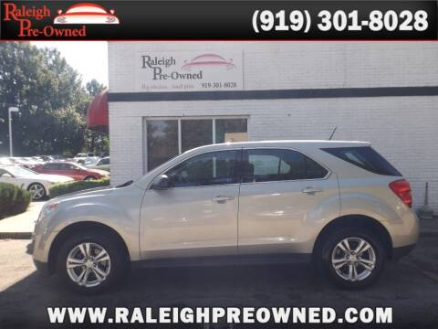 2013 Chevrolet Equinox for sale at Raleigh Pre-Owned in Raleigh NC