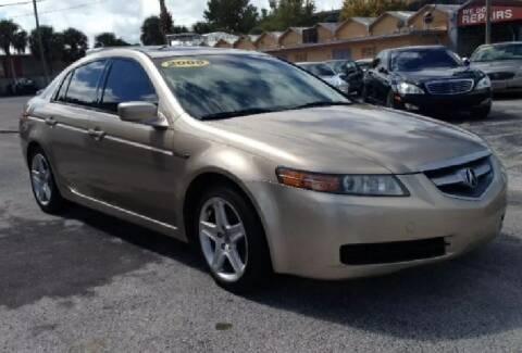 2006 Acura TL for sale at WHEEL UNIK AUTOMOTIVE & ACCESSORIES INC in Orlando FL