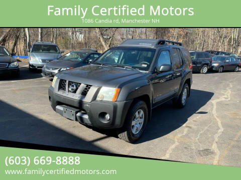 2005 Nissan Xterra for sale at Family Certified Motors in Manchester NH