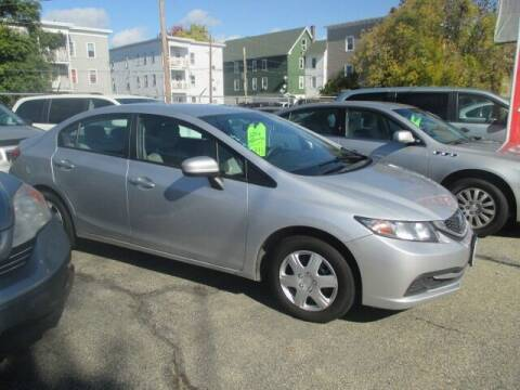 2014 Honda Civic for sale at MERROW WHOLESALE AUTO in Manchester NH