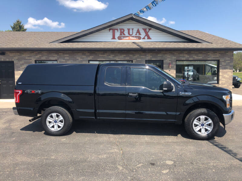 2017 Ford F-150 for sale at Truax Auto Sales Inc. in Deer Creek MN