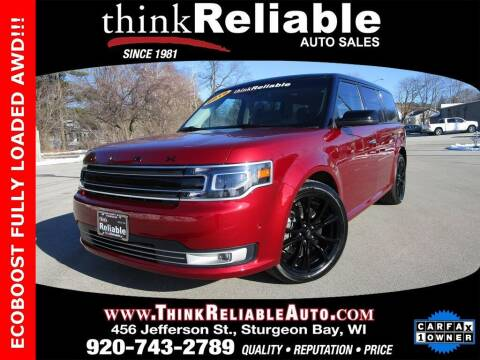 2019 Ford Flex for sale at RELIABLE AUTOMOBILE SALES, INC in Sturgeon Bay WI