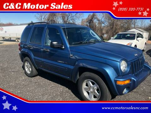 2003 Jeep Liberty for sale at C&C Motor Sales LLC in Hudson NC