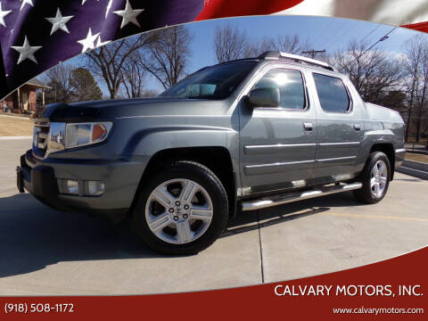 2009 Honda Ridgeline for sale at Calvary Motors, Inc. in Bixby OK