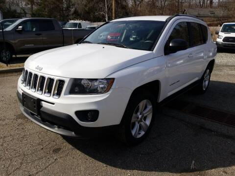 2016 Jeep Compass for sale at AMA Auto Sales LLC in Ringwood NJ