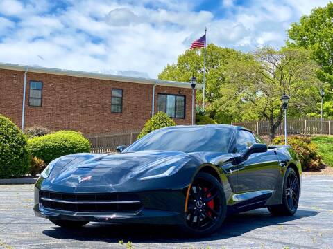 2014 Chevrolet Corvette for sale at Sebar Inc. in Greensboro NC