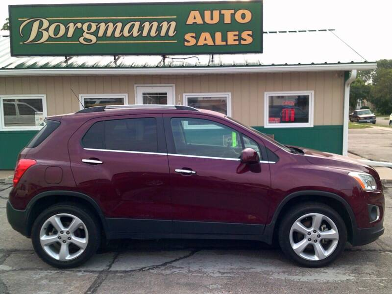 2016 Chevrolet Trax for sale at Borgmann Auto Sales in Norfolk NE