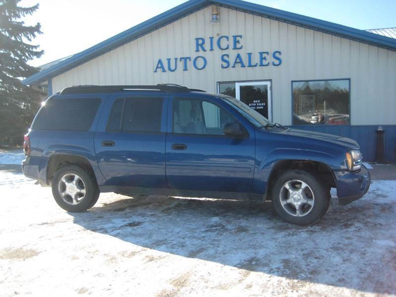 2006 Chevrolet TrailBlazer EXT for sale at Rice Auto Sales in Rice MN