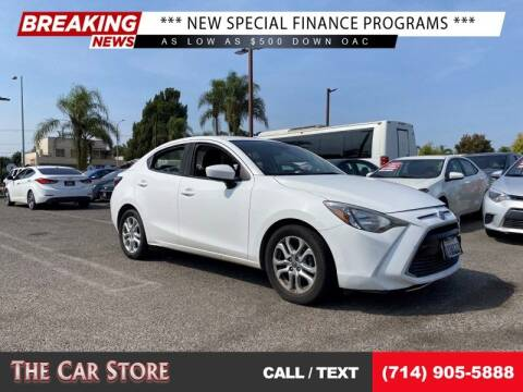 2017 Toyota Yaris iA for sale at The Car Store in Santa Ana CA