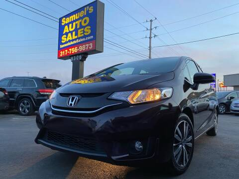 2017 Honda Fit for sale at Samuel's Auto Sales in Indianapolis IN