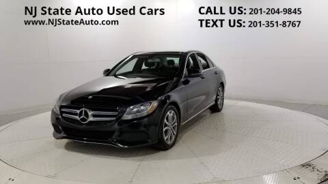 2017 Mercedes-Benz C-Class for sale at NJ State Auto Auction in Jersey City NJ