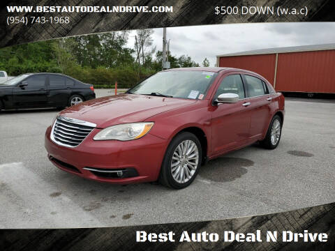 2011 Chrysler 200 for sale at Best Auto Deal N Drive in Hollywood FL