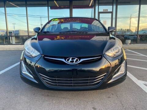 2014 Hyundai Elantra for sale at East Carolina Auto Exchange in Greenville NC