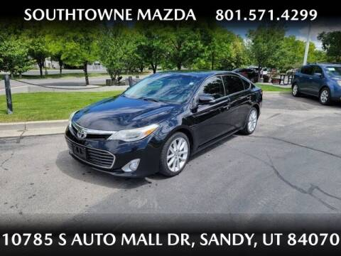 2013 Toyota Avalon for sale at Southtowne Mazda of Sandy in Sandy UT