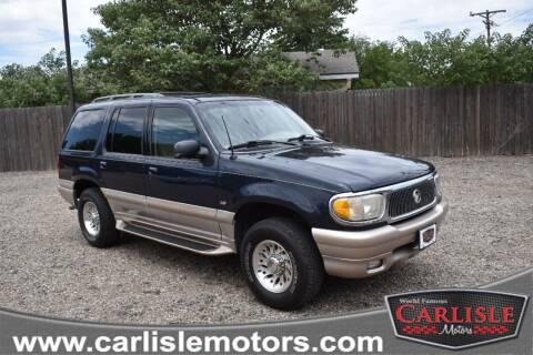 2001 Mercury Mountaineer for sale at Carlisle Motors in Lubbock TX