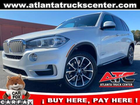 2014 BMW X5 for sale at ATLANTA TRUCK CENTER LLC in Brookhaven GA