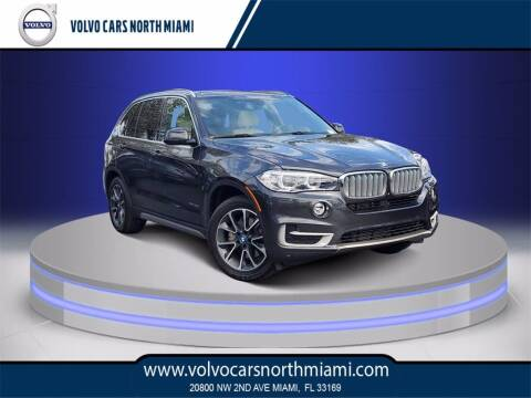 2017 BMW X5 for sale at Volvo Cars North Miami in Miami FL