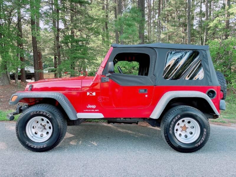 2003 Jeep Wrangler for sale at H&C Auto in Oilville VA