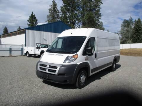 2015 Dodge RAM 3500 Pro Master Van for sale at BJ'S COMMERCIAL TRUCKS in Spokane Valley WA