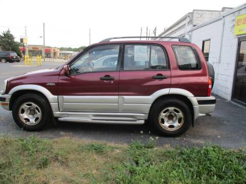2000 Suzuki Grand Vitara for sale at KEY USED CARS LTD in Crystal Lake IL