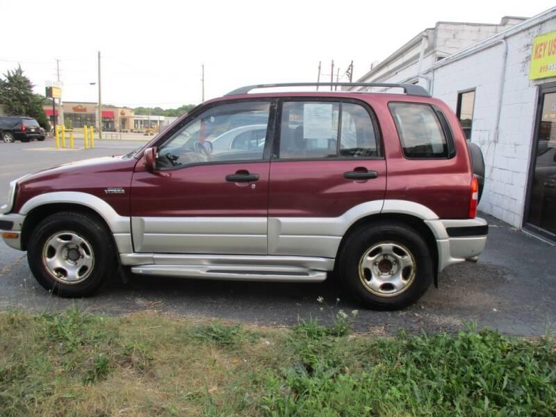 2000 Suzuki Grand Vitara for sale at KEY USED CARS LTD in Crystal Lake IL