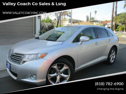 2009 Toyota Venza for sale at Valley Coach Co Sales & Lsng in Van Nuys CA