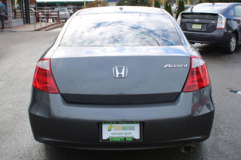 2008 Honda Accord EX-L 2dr Coupe 5A w/Navi - Everett WA