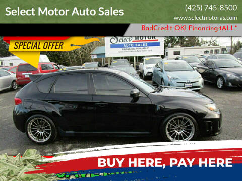 2011 Subaru Impreza for sale at Select Motor Auto Sales in Lynnwood WA