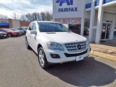 2009 Mercedes-Benz M-Class for sale at AP Fairfax in Fairfax VA