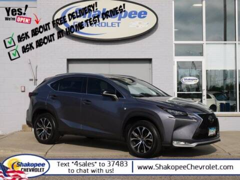 2015 Lexus NX 200t for sale at SHAKOPEE CHEVROLET in Shakopee MN