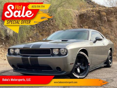 2011 Dodge Challenger for sale at Baba's Motorsports, LLC in Phoenix AZ