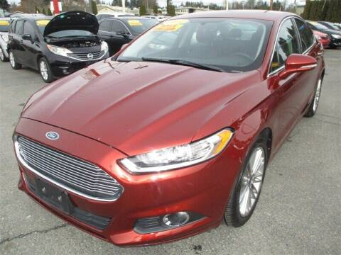 2014 Ford Fusion for sale at GMA Of Everett in Everett WA