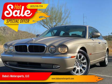 2004 Jaguar XJ-Series for sale at Baba's Motorsports, LLC in Phoenix AZ