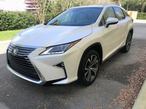 2017 Lexus RX 350 for sale at DENMARK AUTO BROKERS in Riviera Beach FL